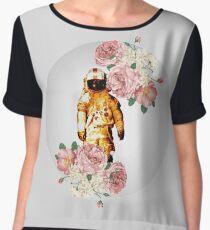 Deja Entendu - Flowers Women's Chiffon Top