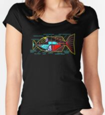 Babel fish Women's Fitted Scoop T-Shirt