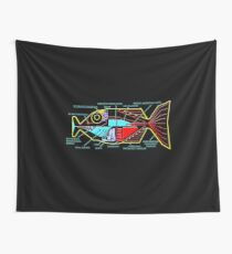 Babel fish Wall Tapestry