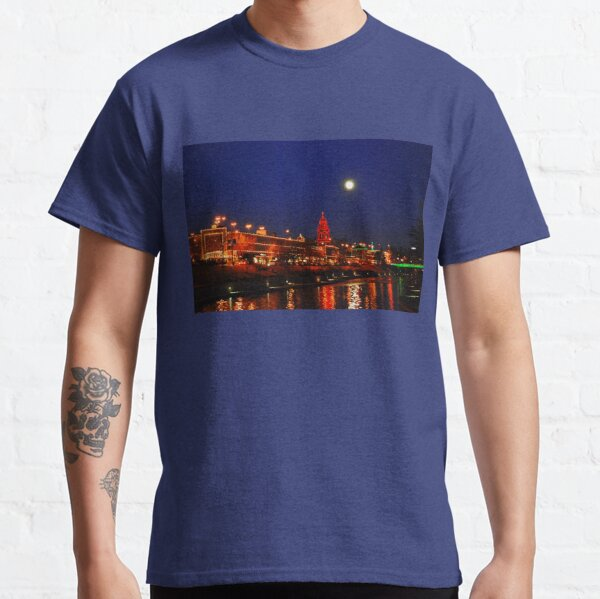 Full Moon over the Country Club Plaza in Kansas City Classic T-Shirt
