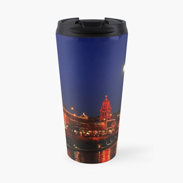 Full Moon over the Country Club Plaza in Kansas City. Travel Mug