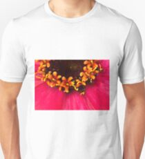 Flowers Within The Flower - Zinnia Macro  Unisex T-Shirt