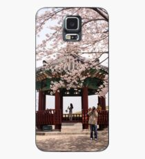 Cherry Blossoms in Seoul's Olympic Park Case/Skin for Samsung Galaxy