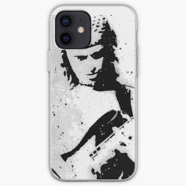 Portrait of Pastorius iPhone Soft Case