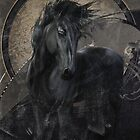 Gothic Friesian Horse by Gatterwe