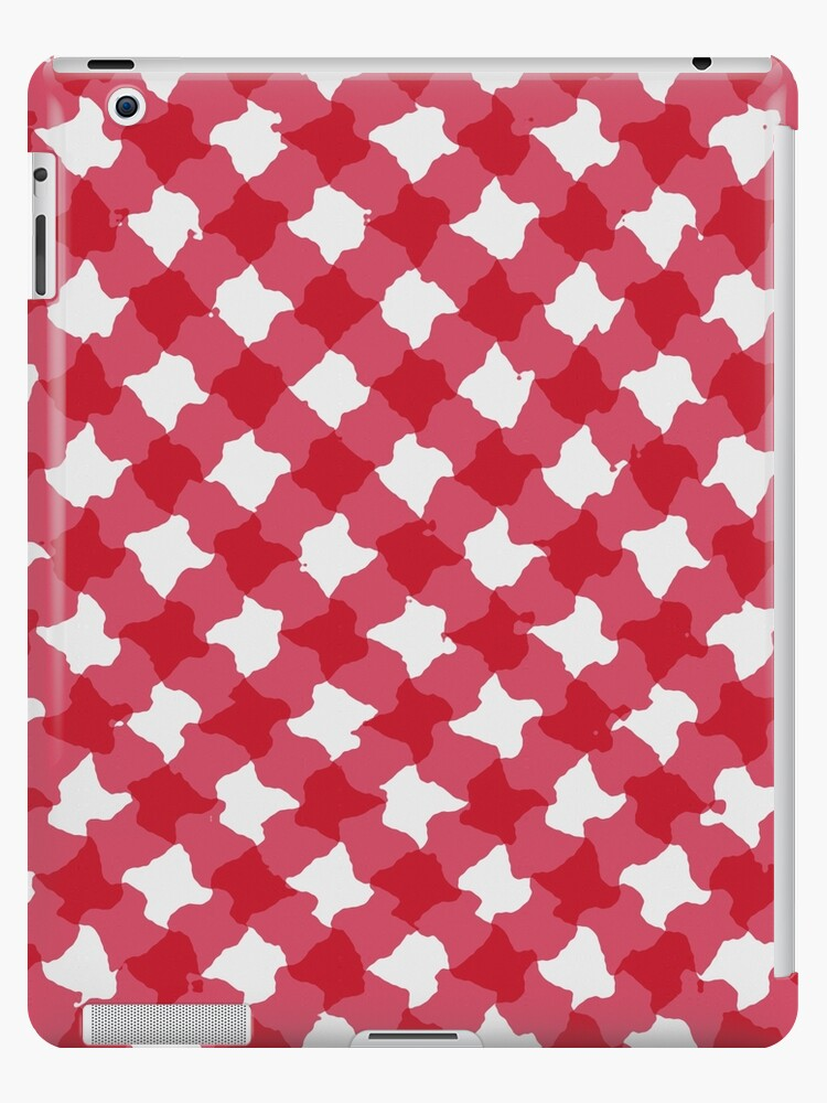 Red gingham design  by stuwdamdorp