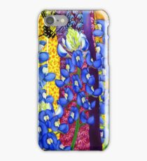Bluebonnet Garden iPhone Case/Skin