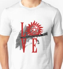 Always Keep Fighting - Supernatural LOVE Unisex T-Shirt