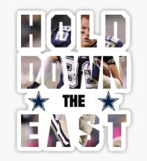 Dallas Cowboys - HOLD DOWN THE EAST  Sticker