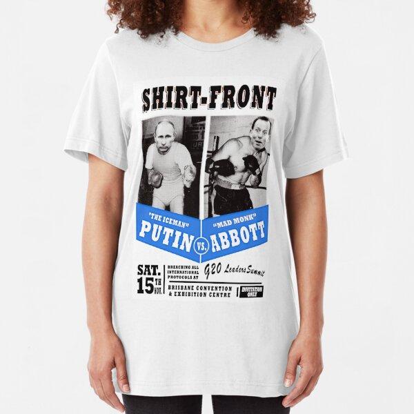 #Shirtfront - blue Slim Fit T-Shirt