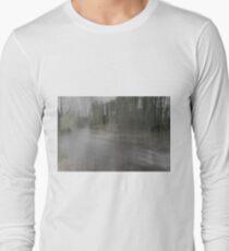 Fall Water Impression Long Sleeve T-Shirt