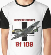 Bf 109 Fighter  Graphic T-Shirt