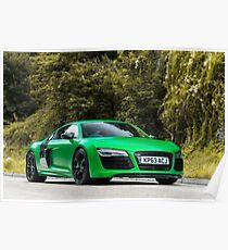 Audi R8 V10 Quattro Poster