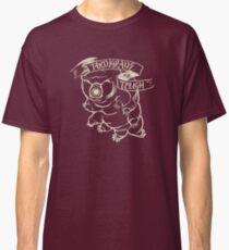 Tardigrade Tough Monochrome Light on Dark version Classic T-Shirt