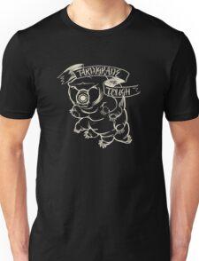 Tardigrade Tough Monochrome Light on Dark version Unisex T-Shirt