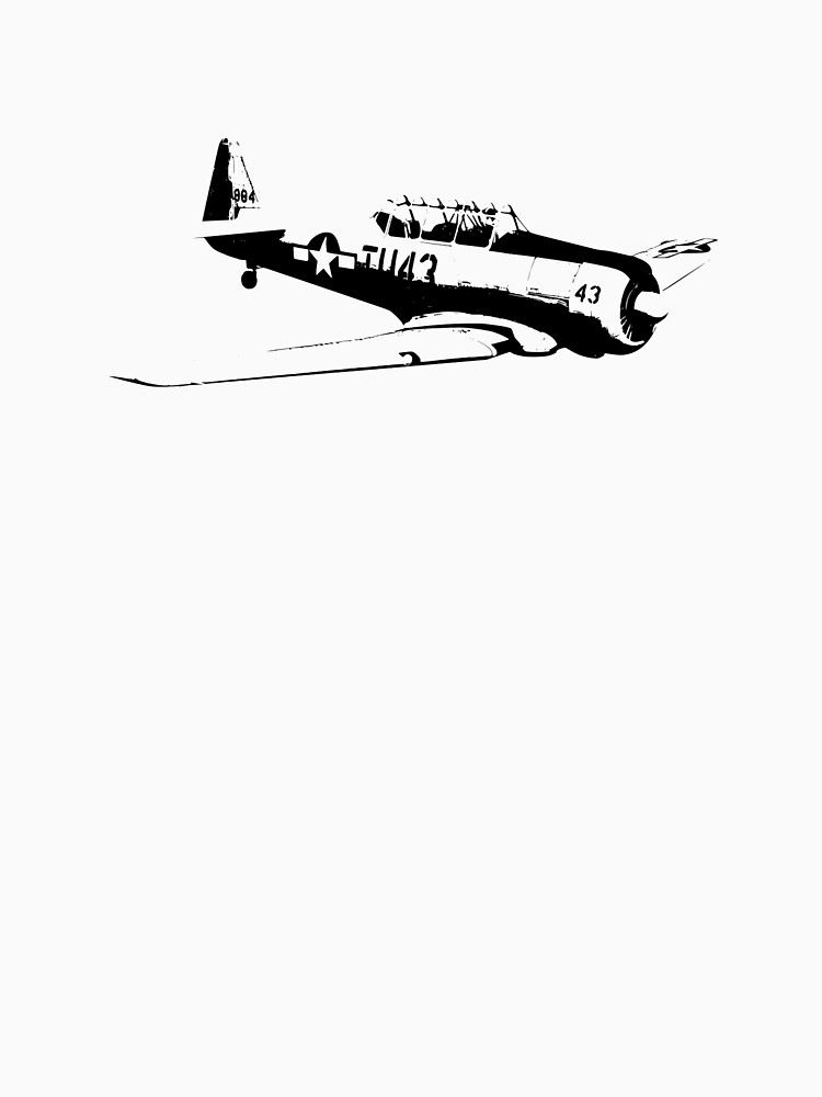 AT-6 Texan WW2 Trainer by cranha