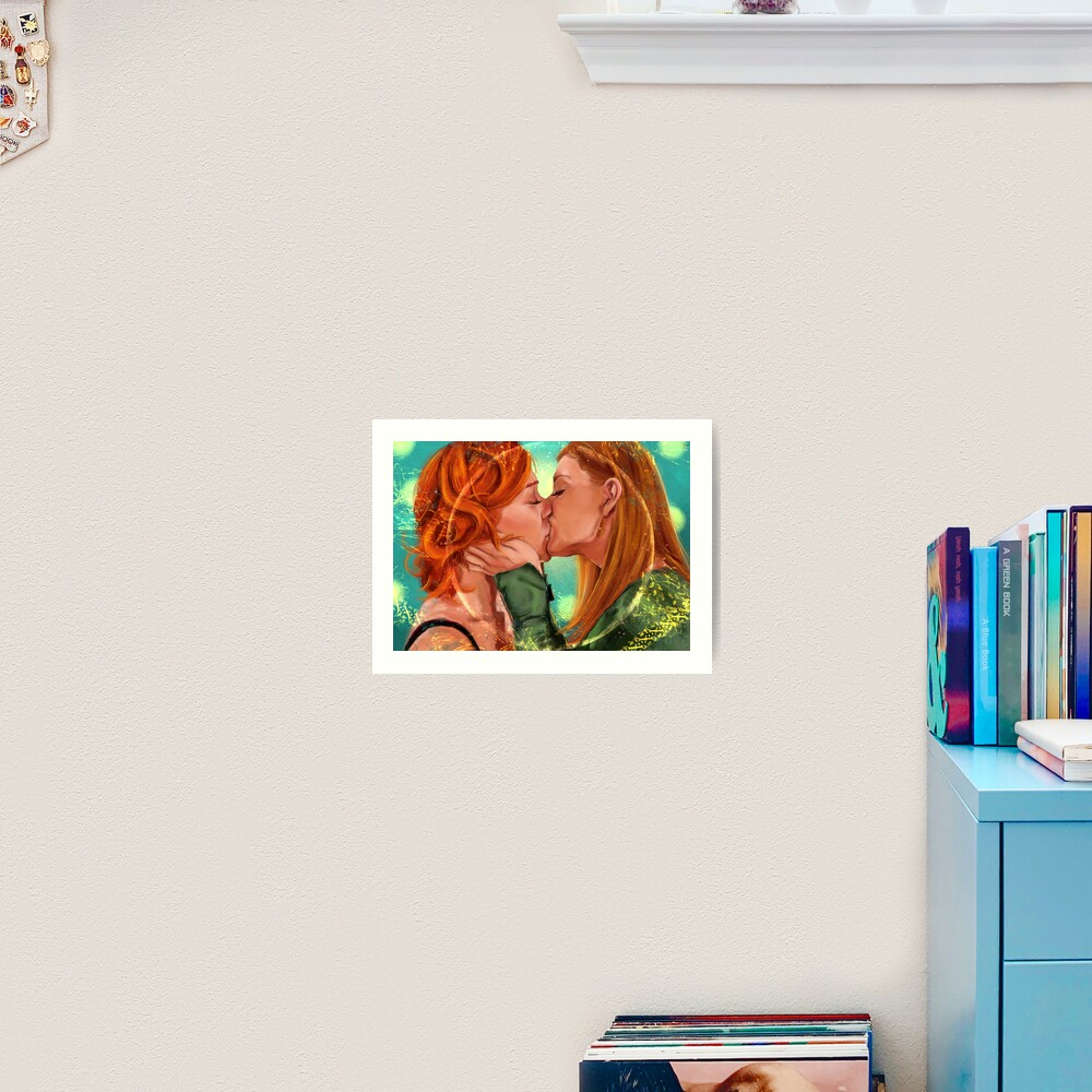 Love is Powerful Art Print