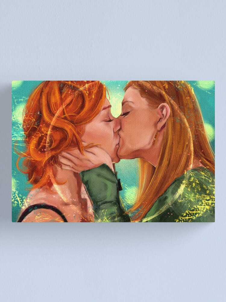 Alternate view of Love is Powerful Canvas Print