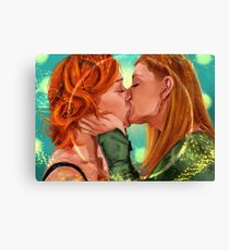 Love is Powerful Canvas Print