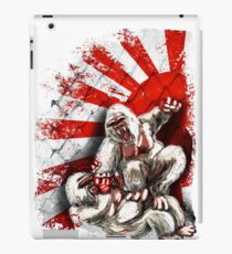 MMA fighting gorillas iPad Case/Skin