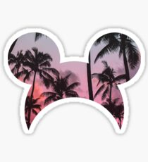 Tropical Cali Mouse Inspired Sticker