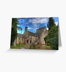 Preceptory of the Knights of St John Greeting Card