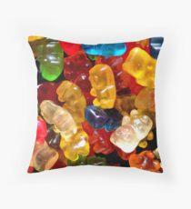 Gummie Bears Throw Pillow