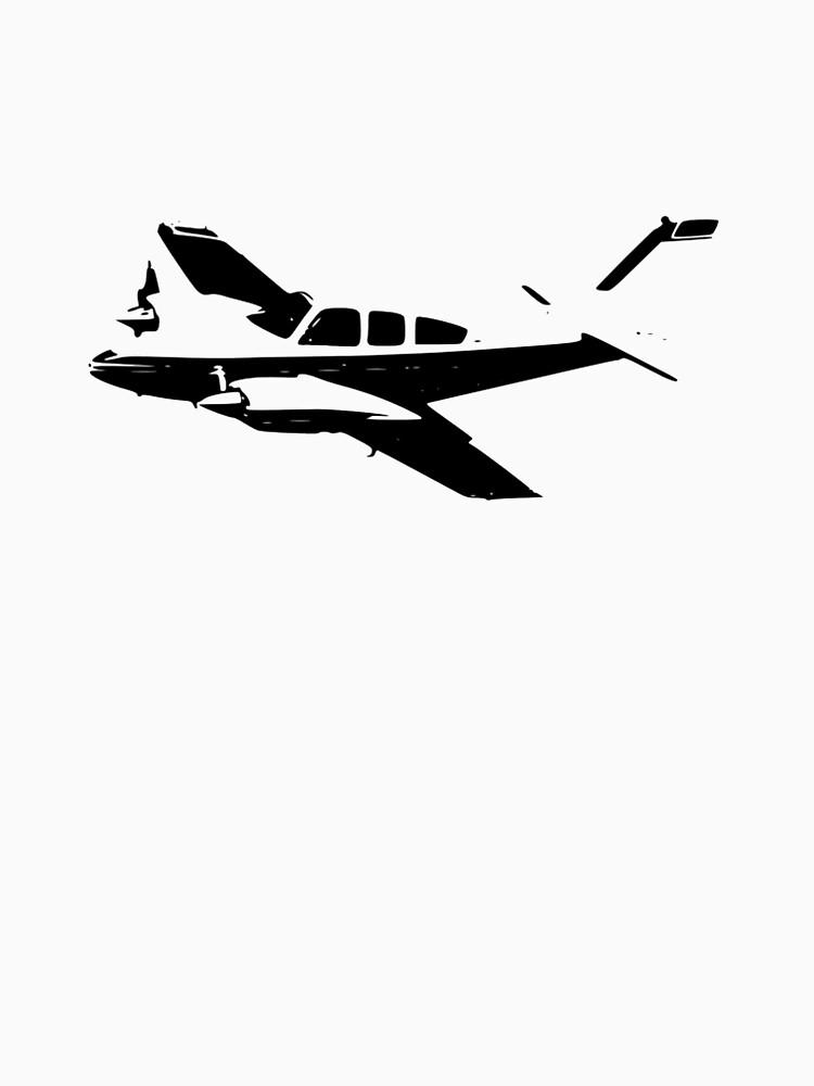 Beechcraft Baron 55 by cranha