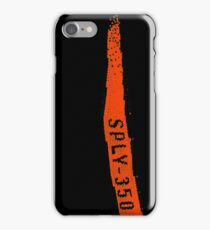 sply 350 orange iPhone Case/Skin