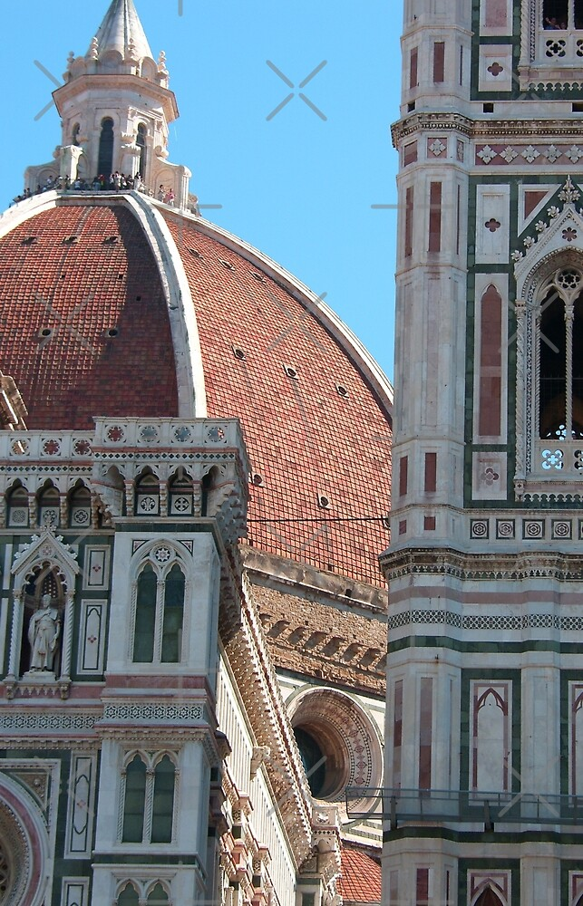 Duomo and Campanile Tower, Florence by Tom Gomez