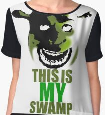 This is my swamp - Shrek is love. Shrek is life. Chiffon Top