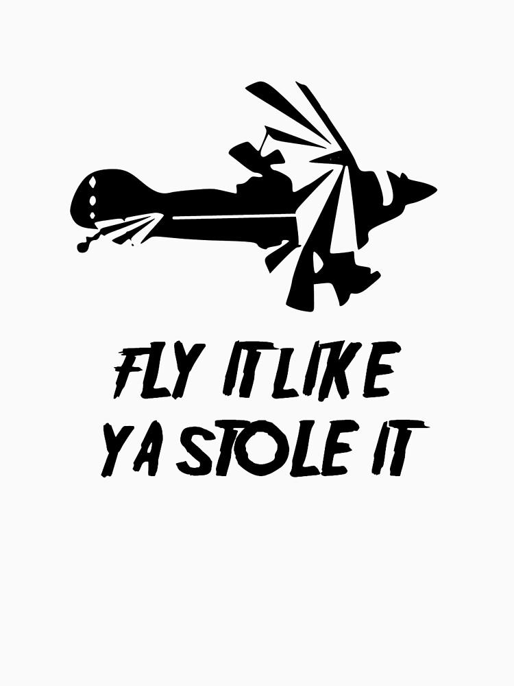 Pitts Biplane- Fly It Like Ya Stole It by cranha