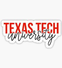 Texas Tech University - Style 13 Sticker