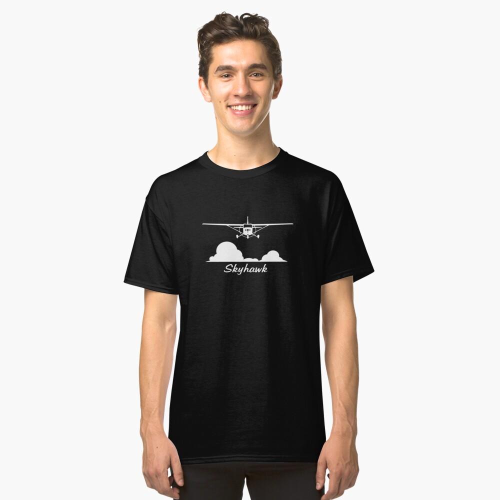 Cessna 172 Skyhawk Clouds Classic T-Shirt