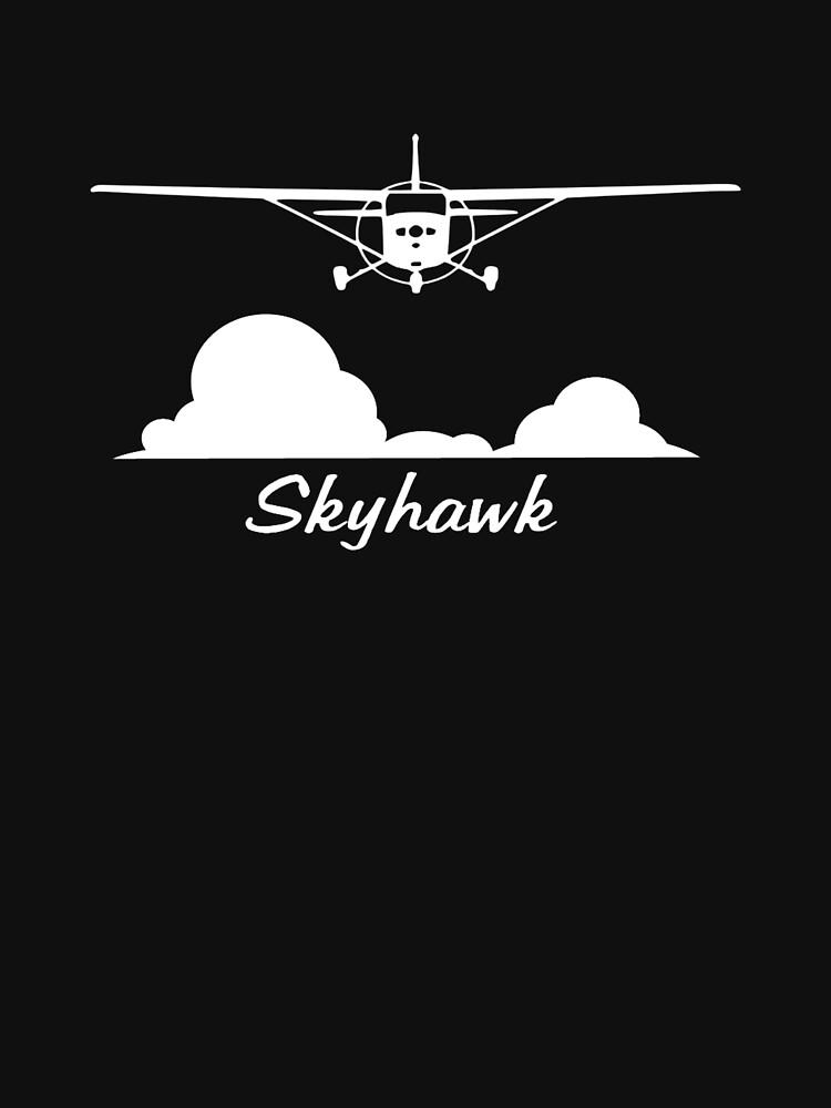 Cessna 172 Skyhawk Clouds by cranha