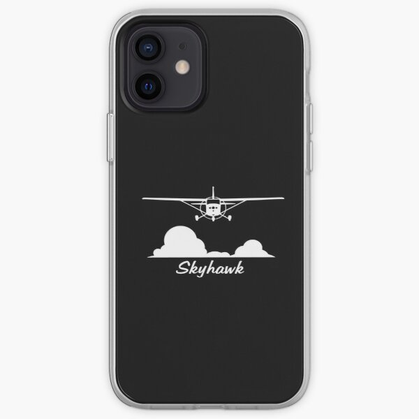 Cessna 172 Skyhawk Clouds iPhone Soft Case