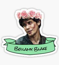 bellamy blake flower crown sticker Sticker