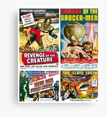 Sci-Fi Poster Collection #5 Canvas Print