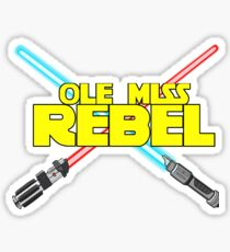 Ole Miss Star Wars Rebel Sticker