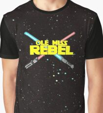 Ole Miss Star Wars Rebel Graphic T-Shirt