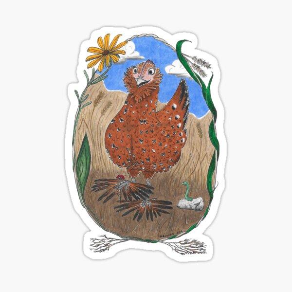 Henrietta Chicken Sticker