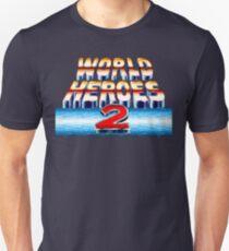 World Heroes 2 (SNES Title Screen) T-Shirt