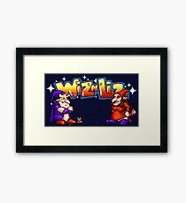 Wiz 'n' Liz (Genesis Title Screen) Framed Print