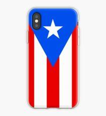 Puerto Rico Flag Banner iPhone Case