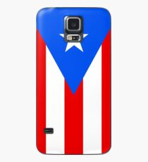 Puerto Rico Flag Banner Case/Skin for Samsung Galaxy