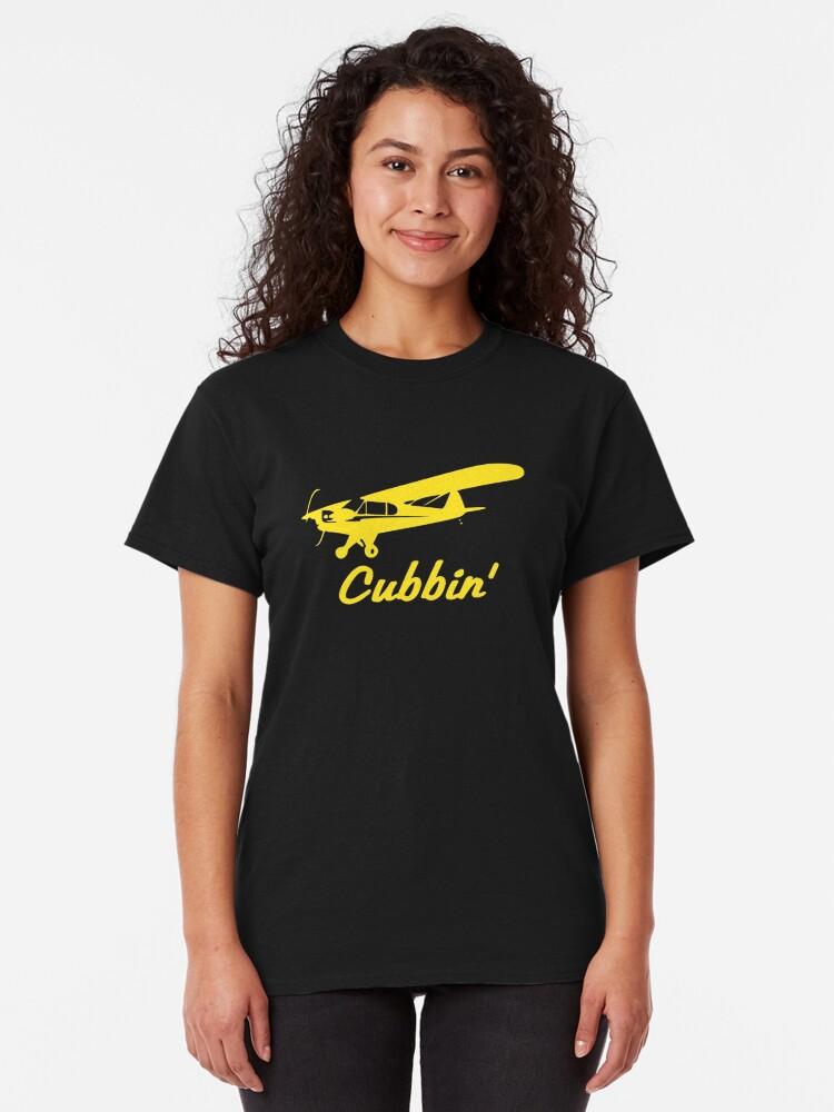 Alternate view of Cubbin Piper J-3 Cub Classic T-Shirt