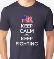 Keep Calm and Keep Fighting T-Shirt