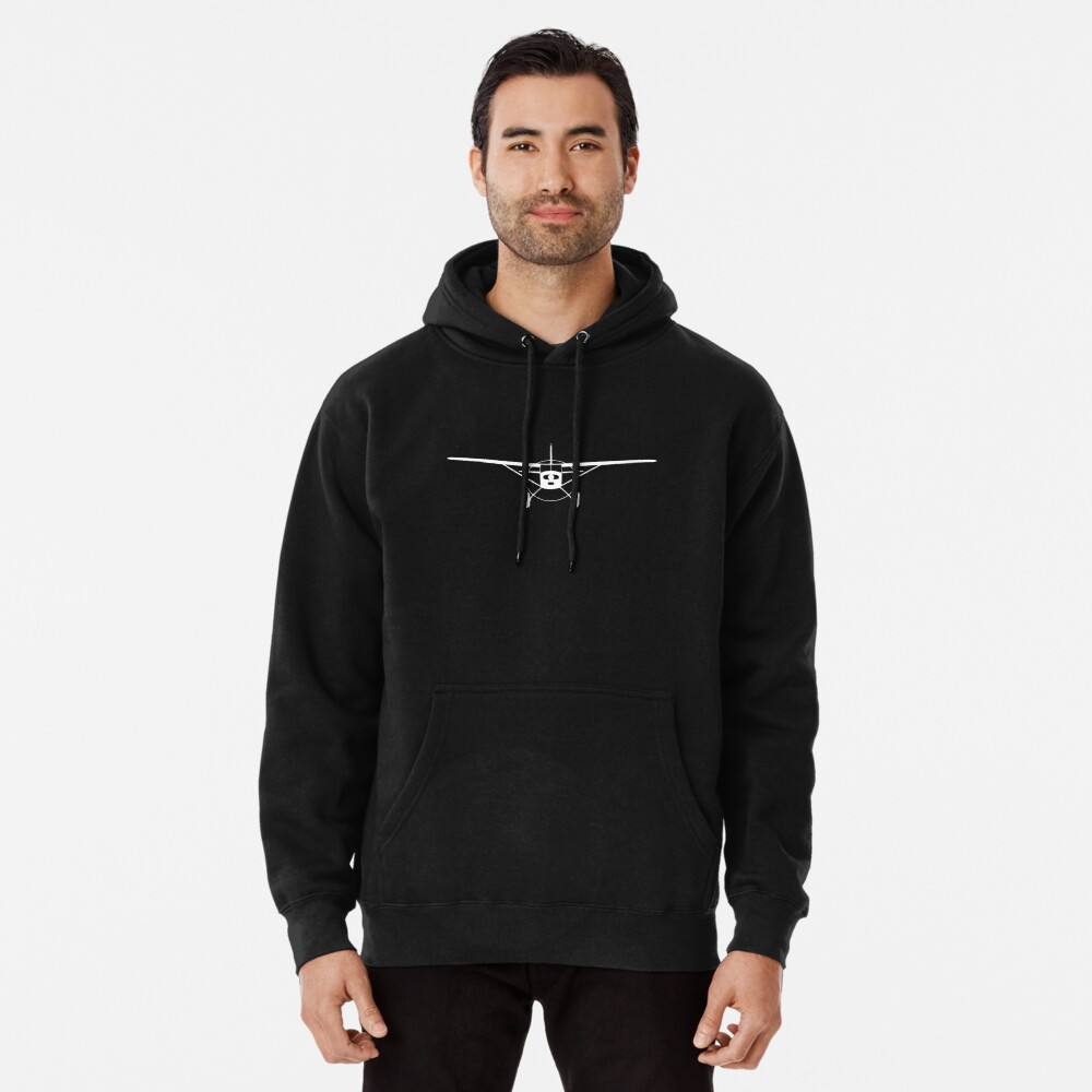 Cessna 180 / 185 Big Tires Pullover Hoodie