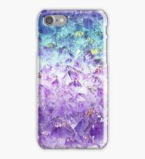 Alexandrite crystal rough cut iPhone Case/Skin