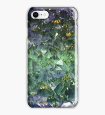 Emerald rough cut gem iPhone Case/Skin